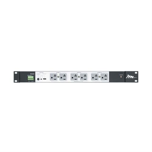 View a larger image of the Middle Atlantic Multi-Mount Power (16 Outlet, 20A, 3 Step Sequencing) PDS-1620R-NS.