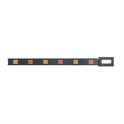 View a larger image of the Middle Atlantic Power Strip (6 Outlet, 20A, Hardwired) PDT-2X320.
