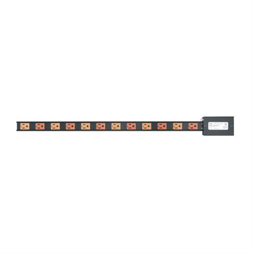 View a larger image of the Middle Atlantic Power Strip (12 Outlet, 15A, Hardwired) PDT-2X615S.