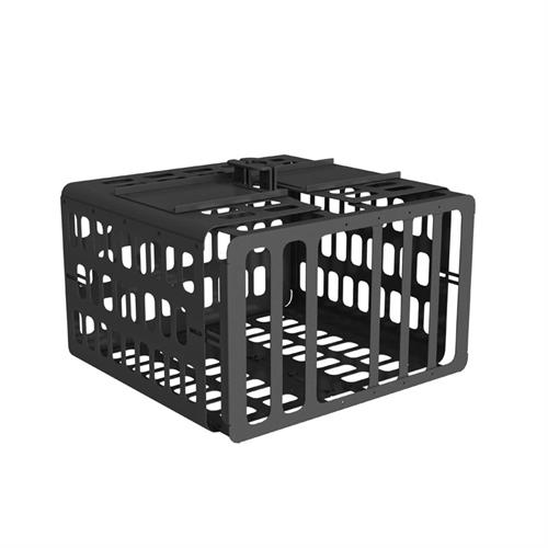View a large image of the Chief Large Venue Projector Guard Steel Security Cage Black or White PG4A here.