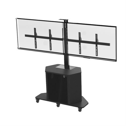 View a large image of the Audio Visual Furniture Display Cart with PM-D Mount PL3070-PACKAGE D here.