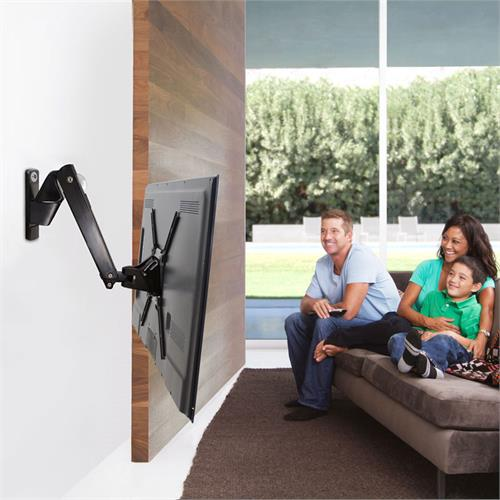 View a large image of the OmniMount Full Motion Wall Mount for 30-60 inch Screens PLAY70-BLACK here.