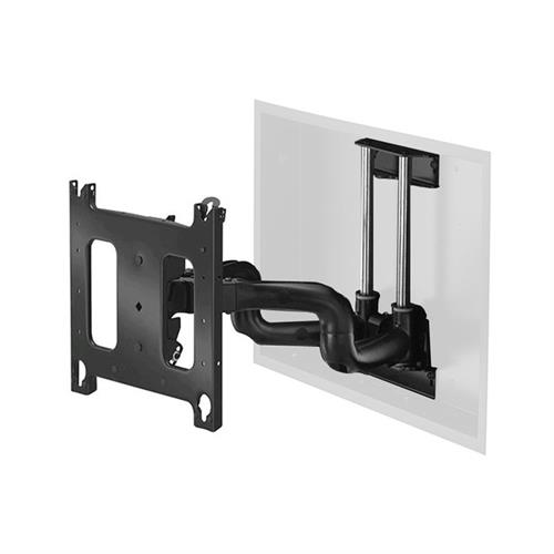 View a larger image of the Chief Dual Swing Arm Flat Panel In-Wall Mount for 40-71 inch Displays (Black) PNRIW.