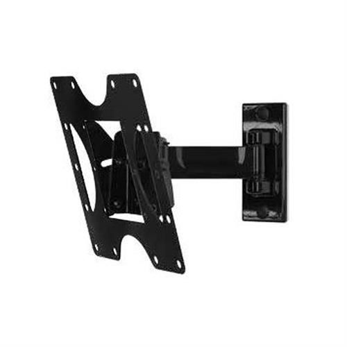 View a large image of the Peerless PARAMOUNT Pivoting Wall Mount for 24-40 inch Screens Black PP740 here.