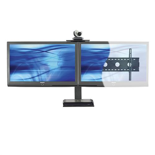 View a large image of the AVTEQ Wall Mount Video Conferencing System for Two 36-65 inch Screens PS-100L here.
