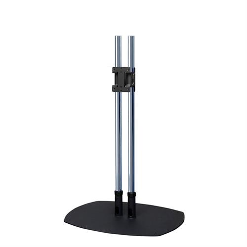 View a large image of the Premier Mounts 60 inch High Dual Display Chrome Floor Stand PSD-CS60 here.