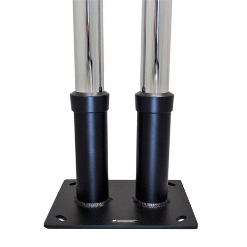 View a large image of the Premier Mounts Dual Pole Anchor Base PSD-DPAB here.