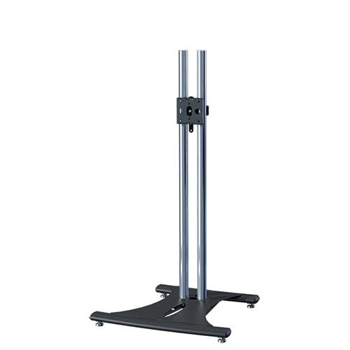 View a large image of the Premier Mounts 60 inch High Chrome Elliptic TV Floor Stand PSD-EB60 here.