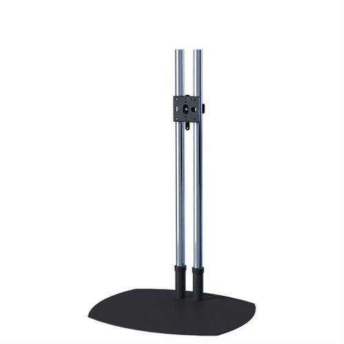 View a large image of the Premier Mounts 60 inch Chrome Low Profile TV Floor Stand PSD-TS60 here.