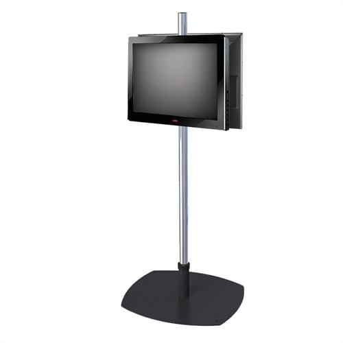 View a large image of the Premier Mounts Single Pole Floor Stand for Two 17-40 in. Monitors PSP-2VPM here.