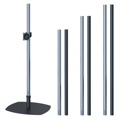 View a large image of the Premier Mounts Prestige Single Pole Floor Stand for 17-40 inch Screens PSP60 PSP72 PSP84 here.