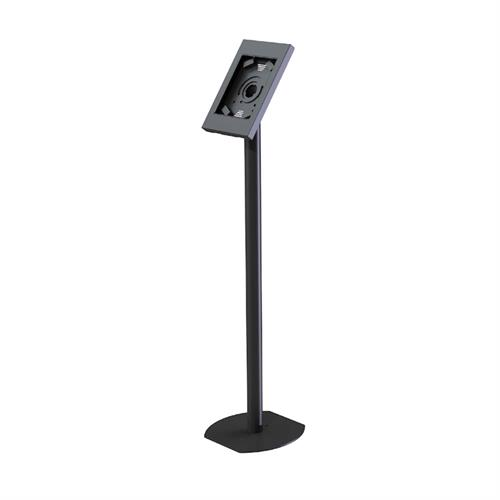 View a larger image of the Peerless Rotating iPad Kiosk Floor Stand (Black) PTS510I.