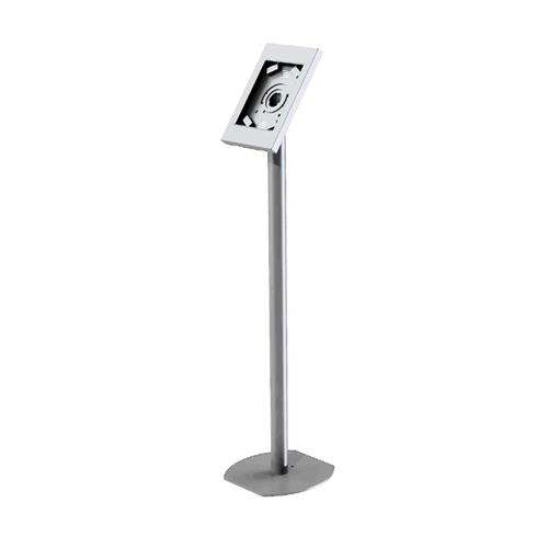 View a larger image of the Peerless Rotating iPad Kiosk Floor Stand (Silver) PTS510I-S.