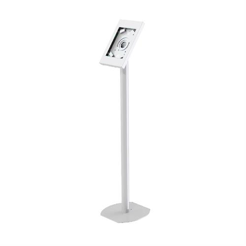 View a larger image of the Peerless Rotating iPad Kiosk Floor Stand (White) PTS510I-W.