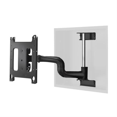 View a larger image of the Chief Single Swing Arm Flat Panel In-Wall Mount for Large Displays PWRIW2000B PWRIWUB.