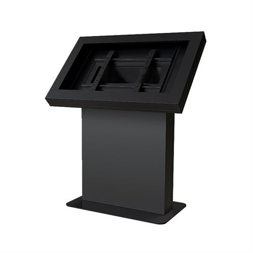 View a large image of the Peerless Indoor Landscape Kiosk Enclosure for 49 inch Screens Black KIL549 here.