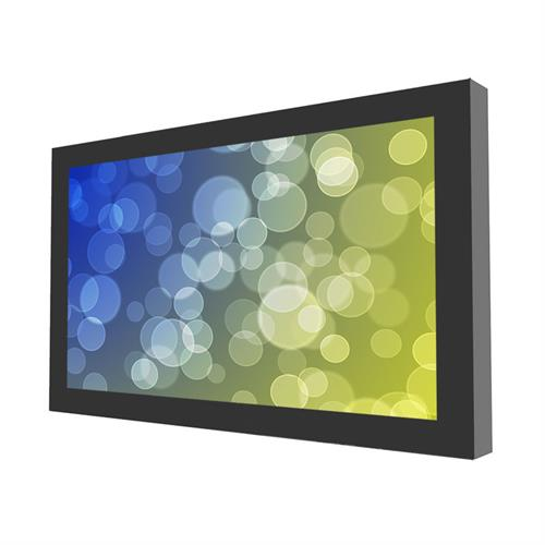 View a large image of the Peerless KIL643-35D Black Indoor 43 inch On-Wall Landscape Kiosk here.