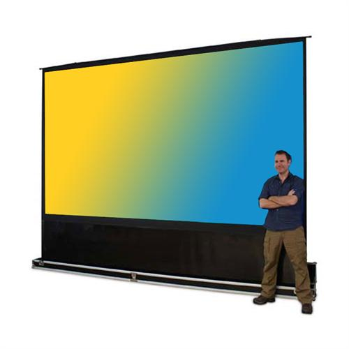 View a large image of the Elite Screens QuickStand 5 Second Series Portable Projection Screen QUICK5-QS here.