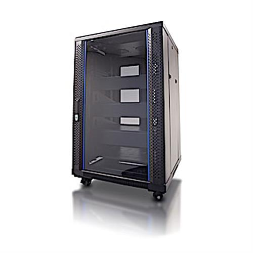 View a large image of the Crimson RC18U Floor Standing 18U Rack Enclosure here.