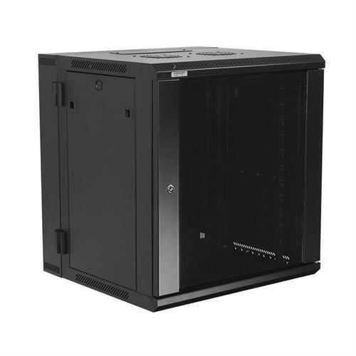 View a large image of the OmniMount 12RU Wall Mount Rack Cabinet RE12W here.