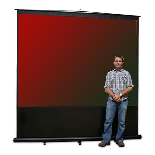 View a large image of the Elite Screens Reflexion Series Portable Projection Screen REFLEX-FM here.