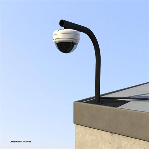 View a large image of the Crimson Heavy Duty Parapet or Flat Roof Security Camera Mount Black RF24 here.