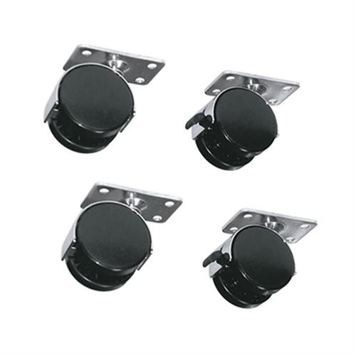 View a larger image of the Middle Atlantic Laminate Rack Casters (Set of 4) RKW.