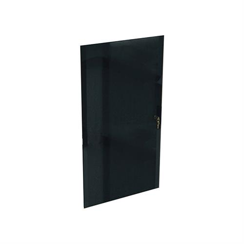 View a larger image of Middle Atlantic Laminate Rack Locking Glass Door (12RU) RK-GD12.