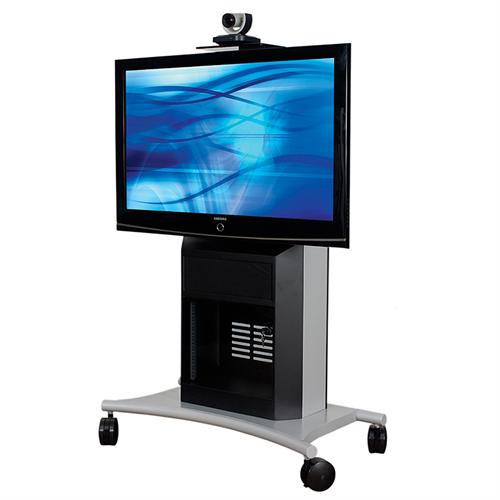 View a large image of the AVTEQ Executive Series Media Cart for One 32-70 inch Screen RPS-1000S here.