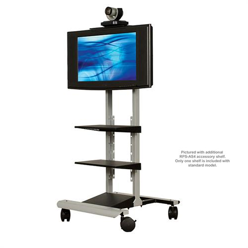 View a large image of the AVTEQ Executive Series Media Cart for One 20-42 inch Screen RPS-400 here.
