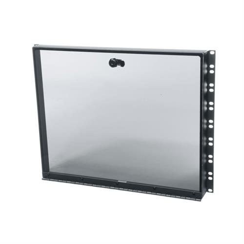 View a larger image of Middle Atlantic Security Cover (8 RU, Hinged Plexi) SECL-8.
