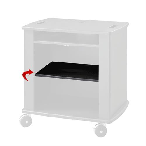 View a large image of the Audio Visual Furniture - VFI Add-On Shelf Black SHLF here.