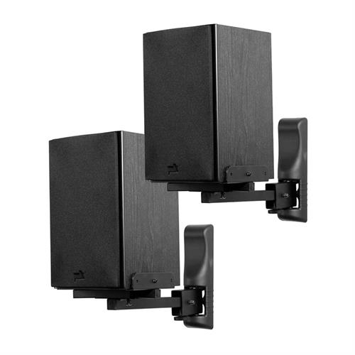 View a larger image of the Peerless Bookshelf Speaker Mount for up to 26 lbs (Black) SPK26.