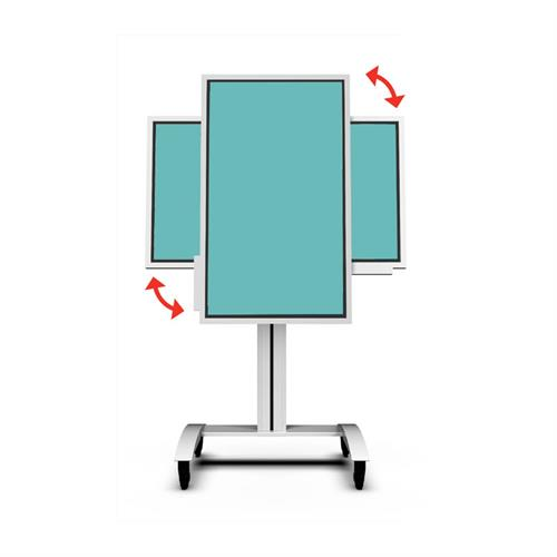 View a large image of the Peerless-AV Rotating Mobile Cart (Samsung Flip) SR560-FLIP.