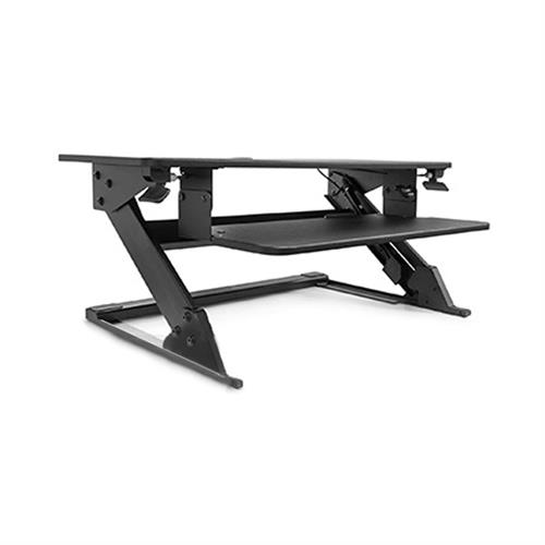 View a large image of the Audio Visual Furniture Sit-Stand Module STSTM-B here.