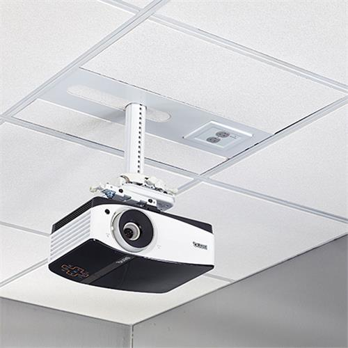 View a large image of the Chief SYSAUWP2 Suspended Ceiling Projector System with Filter & Surge here.