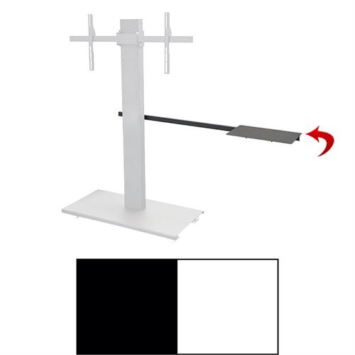 View a larger image of the Audio Visual Furniture SYZ3 Laptop Shelf Arm (Black or White).
