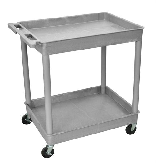 View a large image of the Luxor Large Tub Cart Various Colors TC11 here.