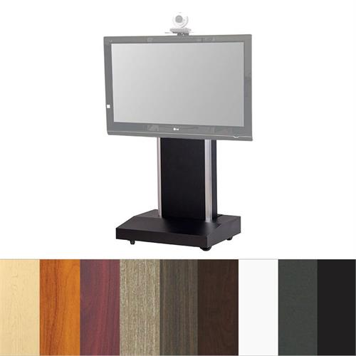 View a large image of the Audio Visual Furniture TP1000-S Large Mobile Telepresence Stand here.