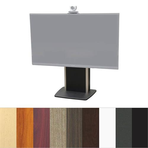 View a large image of the Audio Visual Furniture TP800-XL Extra Large Fixed Base Telepresence Stand here.