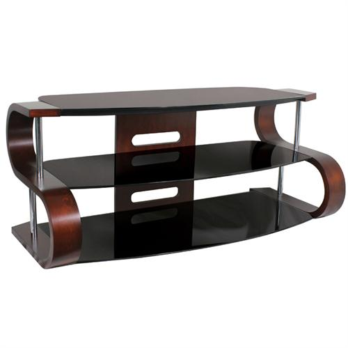 View a larger image of the LumiSource Metro Series 120 TV Stand for up to 60 inch Screens (Dark Wood) TV-SW-TS 120.