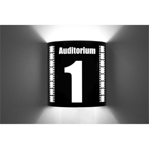 View a large image of the Image Improved Wall Sconce (Auditorium 1, Black) TheatricalSconces015 here.