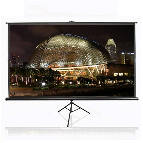 View a larger image of the Elite Screens Tripod Series 16:9 Widescreen Portable Pull-Up Projector Screens (Various Sizes) HDTV-T.