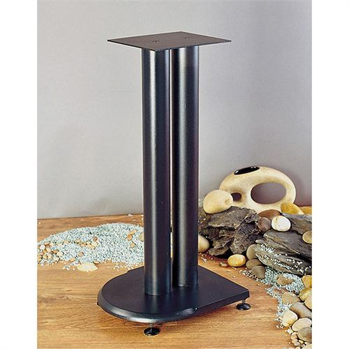 View a large image of the VTI UF Series 19 inch Cast Iron Speaker Stands Black UF19B here.