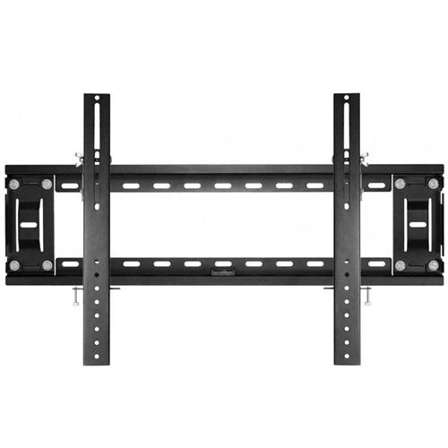 View a large image of the K2 Products Ultra Thin Fixed Flat TV Wall Mount (Black) K3-UT-B here.