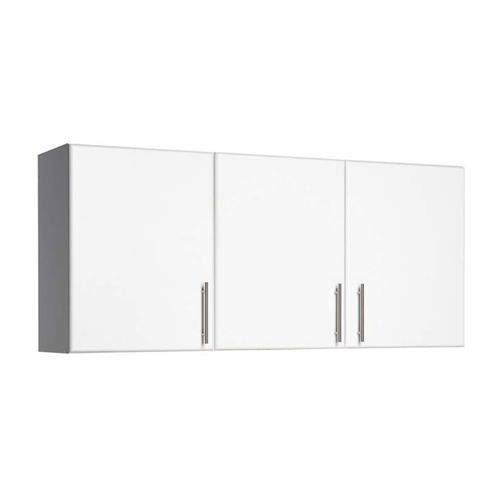 View a larger image of the Prepac Elite Collection 3 Door Storage Unit Wall Cabinet for Garage or Laundry Room (White) WEW-5424.