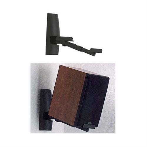 Sanus Speaker Wall Mounts for Larger Bookshelf Speakers Black WMS9