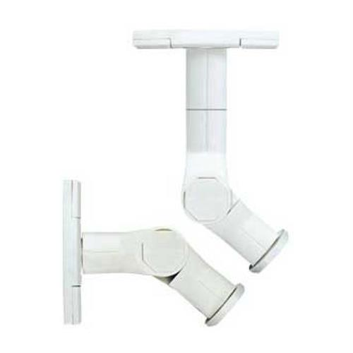 View a larger image of the Sanus Speaker Wall or Ceiling Mounts with Tilt and Rotation (White) WMS3W.