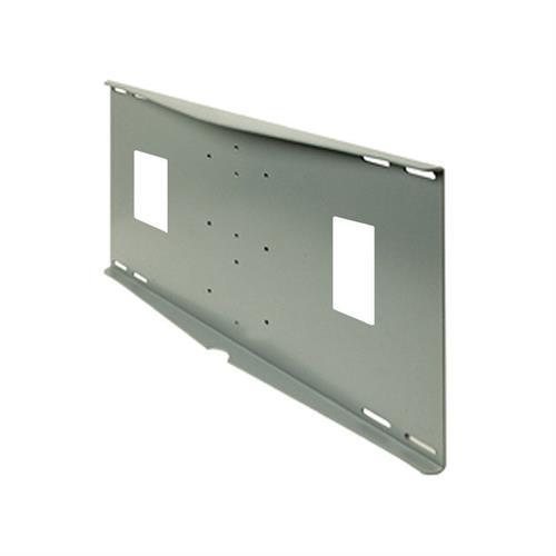 View a larger image of the Peerless Double or Triple Metal Stud Wall Plate for Jumbo and SP740 Mounts (Black) WSP4.