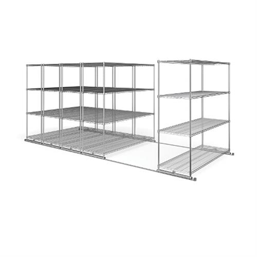 View a larger image of the OFM X5S2472 X5 Sliding Storage System (Five 4-Shelf Units 24x72).